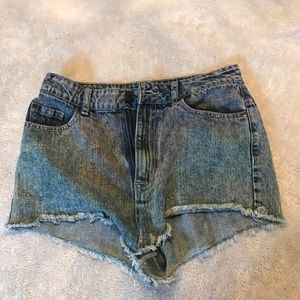 BDG High Rise Cheeky Dree Shorts